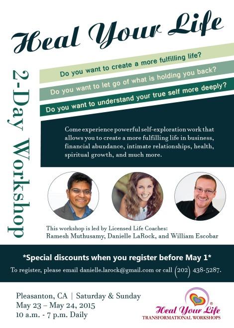 HYL Pleasanton Workshop May 23-24 2015